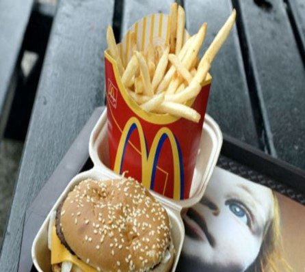Fast foods down for the calorie count
