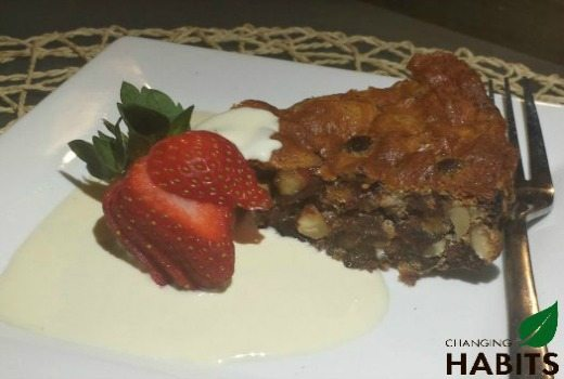 Date, Cacao and Almond Torte