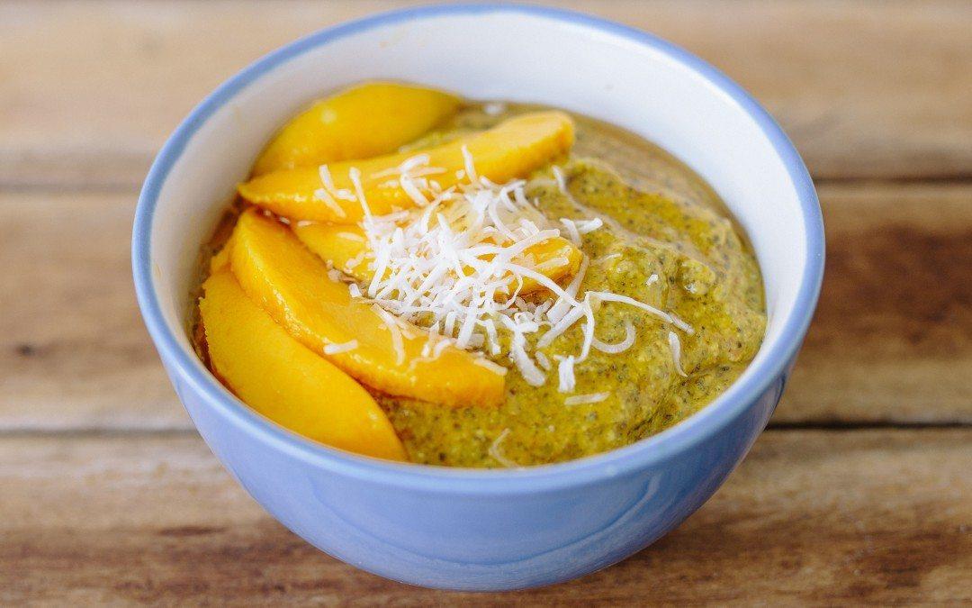 Anti-inflammatory Mango Coconut and Chia Pudding ...