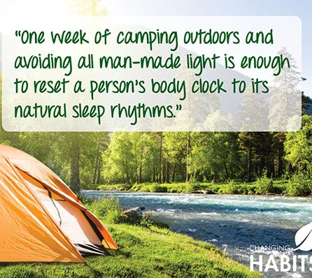 Try Camping to Reset Your Body Clock